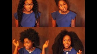 How To Make A Crochet Wig Using Marley Hair