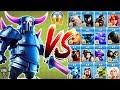 PEKKA vs All Troops Clash of Clans Gameplay | Pekka vs every single troop COC video download