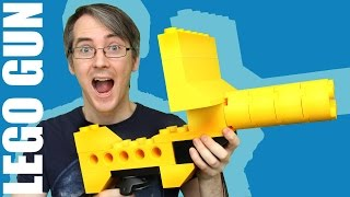 Giant LEGO HyperReality Blaster with Vive VR Tracking | James Bruton