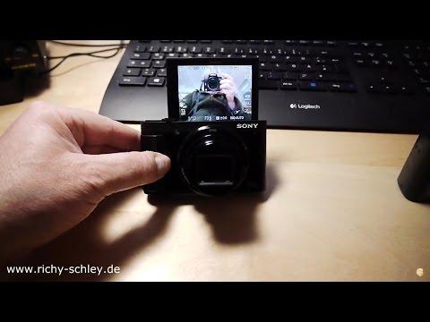 Vlogger Kamera Sony HX80 vs HX50V (mit Sucher und Klappdisplay) Superzoomer