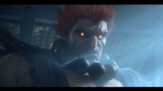 Tekken 7 PS4 Gameplay of Akuma vs Heihachi - TGS 2016