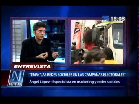 Ángel López Masegosa entrevista en Canal N