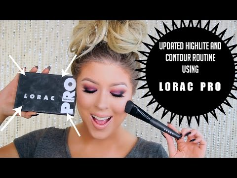 Pro Conceal/Contour Palette And Brush by Lorac #3