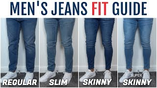 Mens Jeans Fit Guide | The Best Fitting Jeans For Your Physique