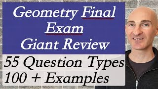 Geometry Final Exam Review