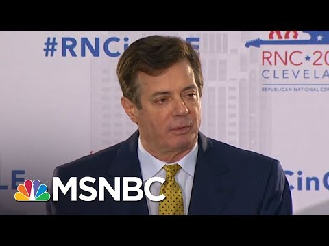 Robert Mueller Files New Charges Against Paul Manafort And Rick Gates | MSNBC