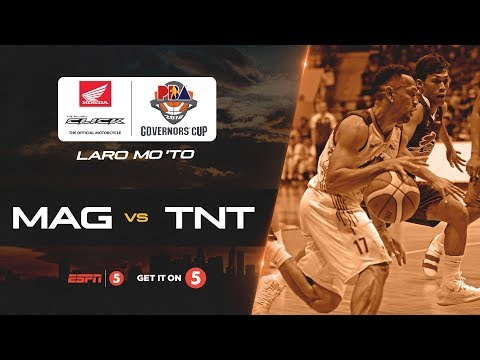 [Sport5]  Full Game: Magnolia vs. TNT | PBA Governors' Cup 2018