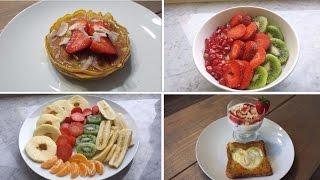 Breakfast Ideas- Four Healthy Low- Calorie Breakfast Ideas.