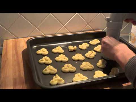 biscotti con la sparabiscotti (frolla montata)