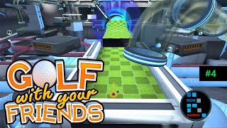 Golf With Your Friends | Space Station Map Fun Gameplay (PART-4)