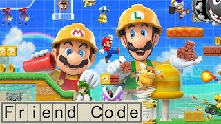 Friend Code: Super Mario Maker 2 Direct