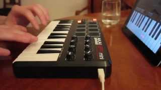 Beat Making #1 - iPad GarageBand & Akai MPK Mini