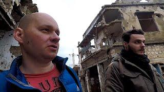 """Сирия как """"ненавидят"""" Россию и Путина Разруха и Нищета городов"""