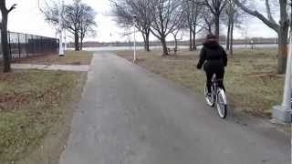 preview picture of video 'Cruising in North Woodmere Park in Late November'
