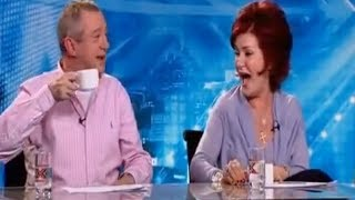 The X Factor Sharon & Louis's Funniest Moments