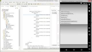 Free Phonegap Tutorial for iOS & Android Tutorial 33 - Use of File Plugin in Phonegap