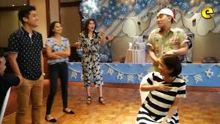 Kaye Abad And Paul Jake Castillo Baby Shower Party Games