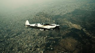 video: Silver Spitfire pilot log week 11: dinner at the Palace with a Maharajah
