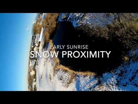 snow-proximity--early-sunrise--fpv-acro-racing-drone-quadcopter