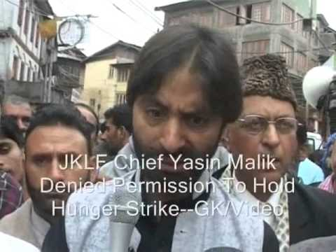 Yasin Malik Detained As Police Foil Protest March