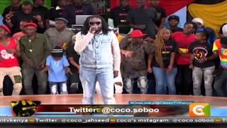 Jah Lyric performing live #OneLove