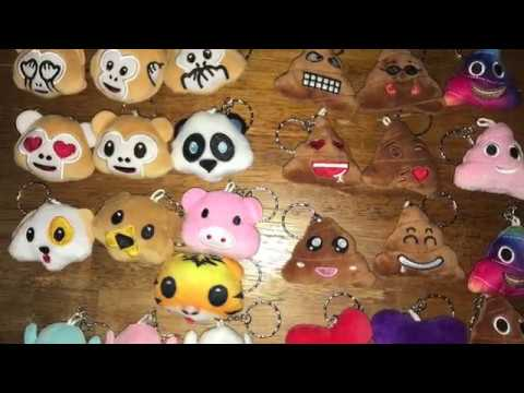Dreampark Mini Emoji Key Chains