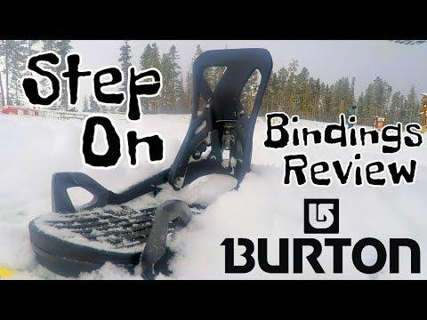 Burton Step On Snowboard Bindings Review