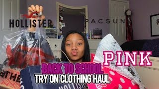 BACK TO SCHOOL TRY ON CLOTHING HAUL