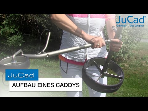 Assembly of a JuCad trolley / Aufbau eines JuCad Caddys