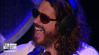 "Chris Cornell Covers Led Zeppelin's ""Thank You"" on the Howard Stern Show (2011)"