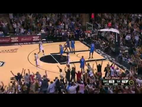 """Coach's """"Nasty"""" Spurs Team to Game 1 Win"""