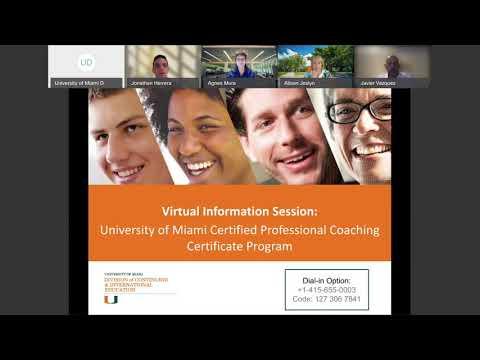 Certified Professional Coach Certificate Program Virtual ... - YouTube