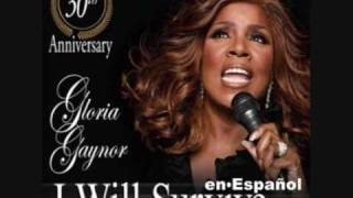 "GLORIA GAYNOR ""I will survive"" (Spanish version)"