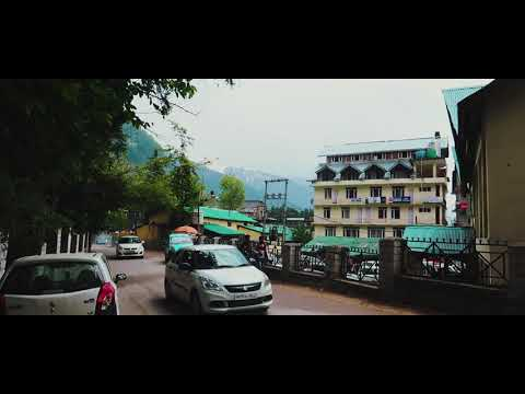 Manali City Inside Travel OLED Video Very High Regulation | Sachin Vlog travel tour Manali trip QLED