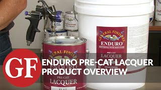 Enduro Pre-Cat Water-Based Lacquer | General Finishes