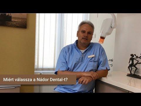 Miért válassza a Nádor Dental-t?