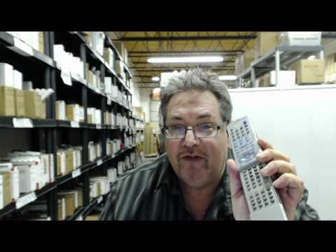 Original JVC RM-STHM303J DVD Player Remote Control - Promo Code - ElectronicAdventure.com