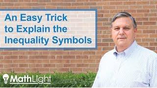 Teaching Math: How to Explain the Inequality Symbols