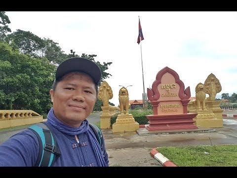 ฝนพรำ ใน Cambodia EP1:จากเมืองโขง ด่านสากลหนองนกเขียน มาเมืองสตึงเเตรง(อดีตเมืองเชียงแตง)