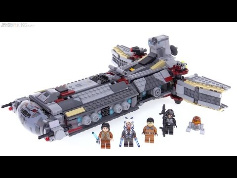 LEGO Star Wars Rebel Combat Frigate review! 75158