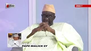 Témoignage de Moustapha Cissé Lo  sur le décès de PAPE MALICK SY