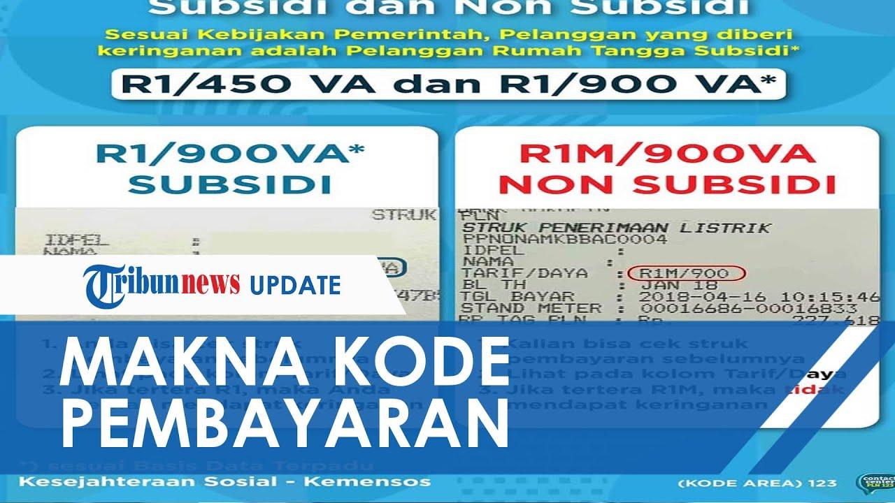 Makna Pesan Kode R1, R1T, R1M, R1MT soal Listrik Gratis dan Diskon, Kode Ini yang Tak Dapat Subsidi