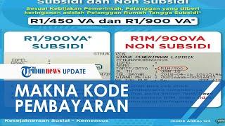Makna Pesan Kode R1, R1T, R1M, R1MT soal Tarif Diskon Listrik, Ada Kode yang Tidak Dapat Subsidi