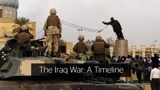 A Timeline of the Iraq War and the Chilcot Report