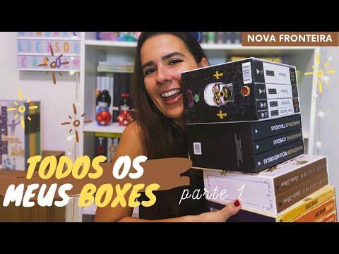 TODOS OS MEUS BOXES DE LIVROS (PARTE 1) // VEDA #25 | Ana Carolina Wagner