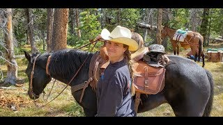 Horseback Riding - 4 Days Camping In The Wilderness!!!