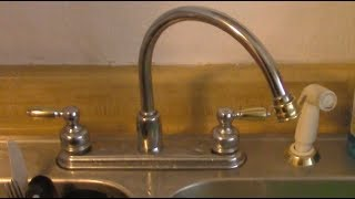 Kitchen Sink Faucet No Water FREE QUICK FIX