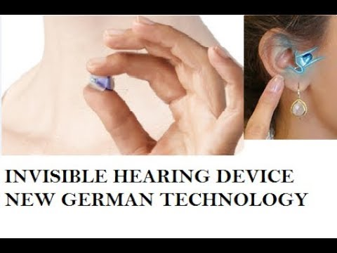 NEW INVISIBLE HEARING MACHINE FOR HEARING IMPAIRED PERSON