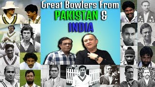 Great Bowlers from Pakistan & India   Caught Behind