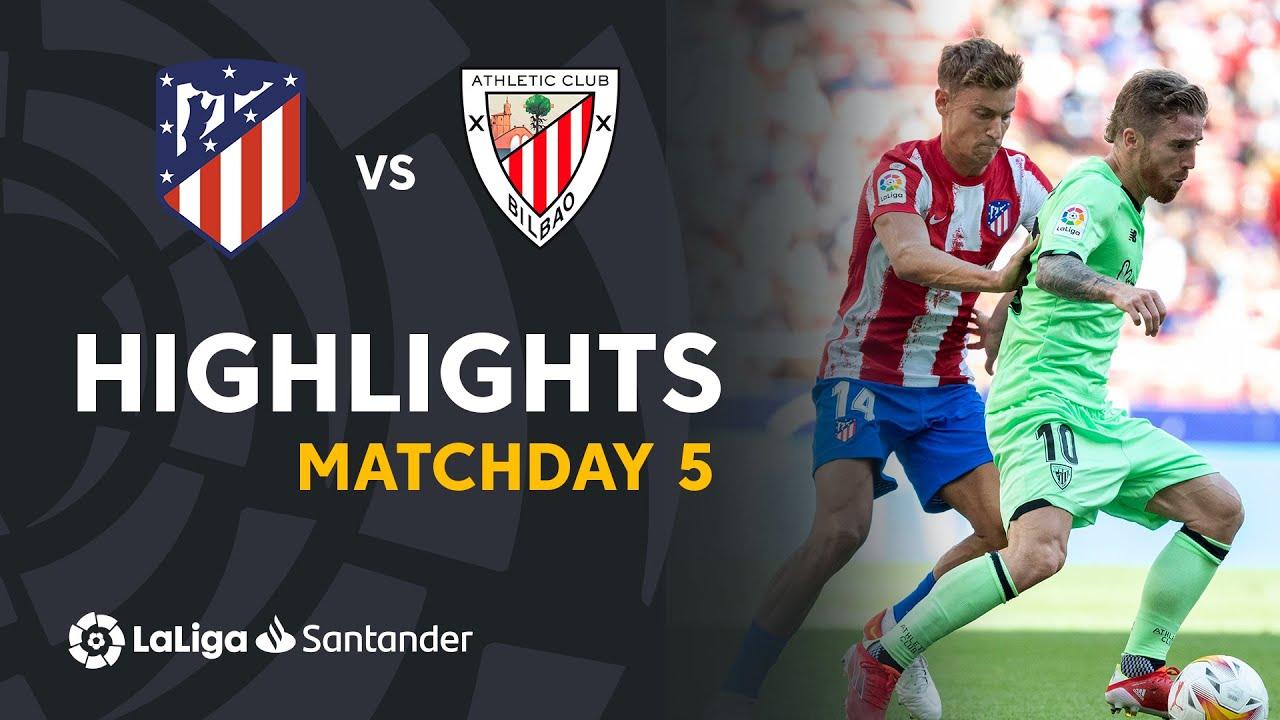Resumen de Atlético de Madrid vs Athletic Club (0-0)